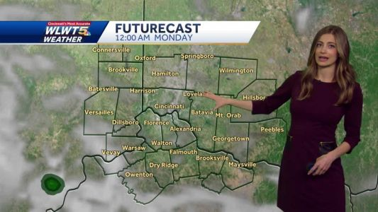 Nice end to weekend; Chance of winter weather this week