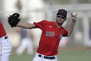 Chris Sale rehabbing the best he can for Red Sox