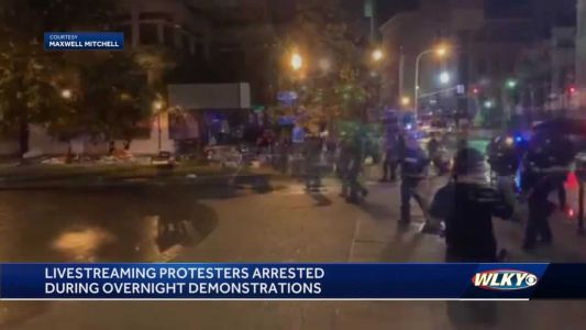 During rash of arrests, protesters believe they were targeted by LMPD for livestreaming