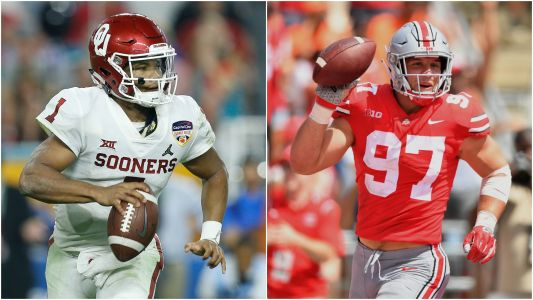 NFL Draft 2019: Kyler Murray, Nick Bosa top prospects on big board