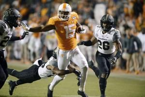 SEC suspends Tennessee WR Jennings for half of Vols' bowl