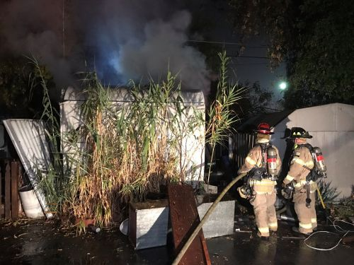 Explosions cause fire, sends Sacramento woman to hospital