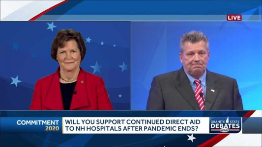 2020 NH U.S. Senate debate: Should NH hospitals get continued direct aid after pandemic ends?
