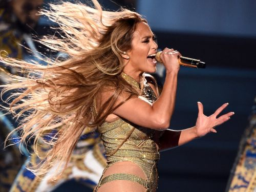 J.Lo blew everyone out of the water with a 10-minute medley of her greatest hits at the VMAs