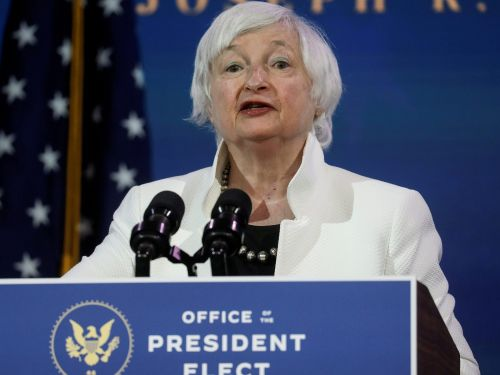 Biden Treasury pick Janet Yellen says additional stimulus and expanded unemployment insurance will provide the 'biggest bang for the buck'