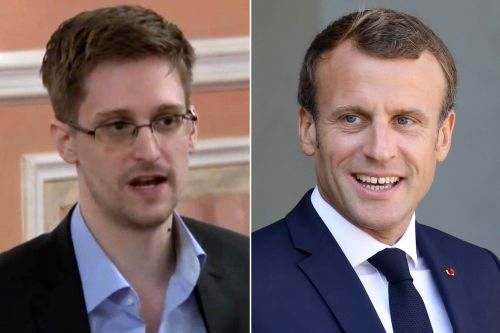 Edward Snowden calls on Emmanuel Macron to grant him asylum in France