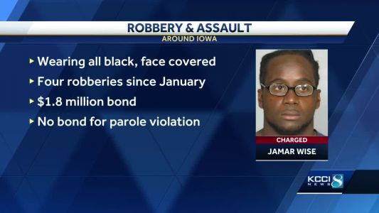 Man arrested in string of robberies, sex assaults