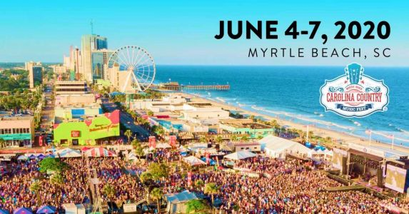 Carolina Country Music Fest in Myrtle Beach moved to September due to COVID-19