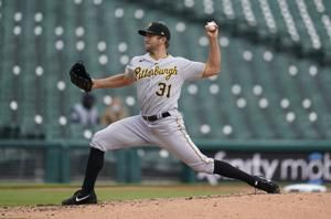 Tigers beat Pirates 5-2 to gain doubleheader split