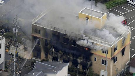 At least one dead, scores injured as Japanese anime studio goes up in flames
