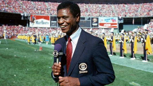 Sports world remembers Irv Cross, former NFL player turned sports TV pioneer
