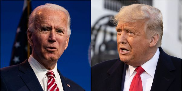 Biden laid out his first 100 days in office and said he won't use DOJ as his personal 'vehicle' to investigate Trump