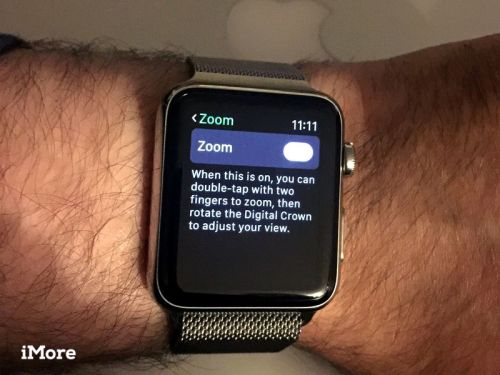 How to set up and use Zoom on Apple Watch
