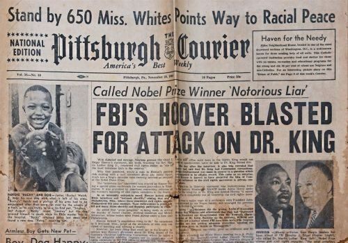 The Pittsburgh Courier wrote the history of Black Americans from its hometown