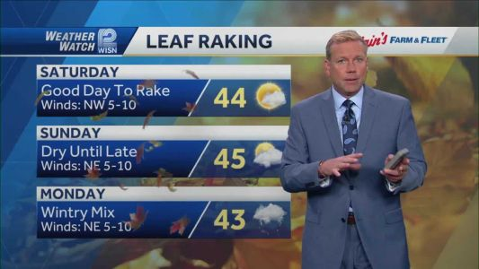 Videocast: Chilly weekend ahead