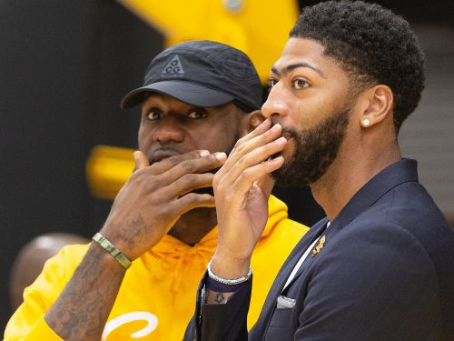 LeBron James, Anthony Davis, and more are among the athletes having fun with the AgeChallenge