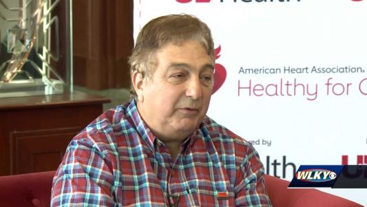 'Red couch tour' brings sportscaster Bob Valvano to talk about nearly missing signs of heart attack