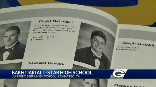WISN 12 Sports goes back to school with David Bakhtiari