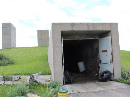 More than 70 people entered a bidding war to buy an abandoned Cold War-era missile silo complex in North Dakota - take a look at the property