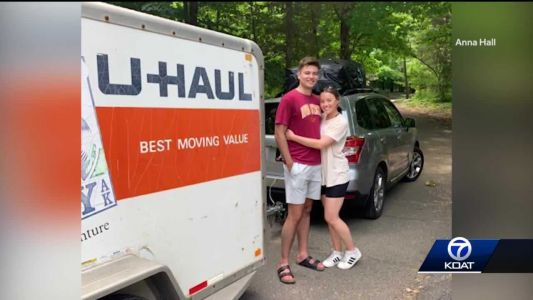 Young couple moving cross country gets U-haul stolen, items inside valued at $30,000