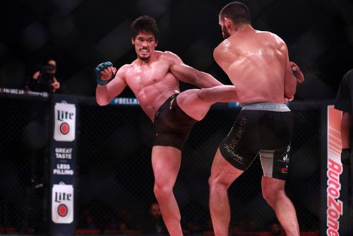 Goiti Yamauchi latest to call out Benson Henderson after Bellator 210 win