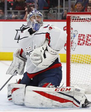 Grubauer lifts Capitals to 1-0 win over Red Wings