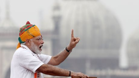 Modi praises move to strip Kashmir of its autonomy in Independence Day speech
