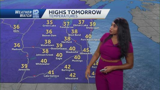 VIDEOCAST: Dry and Cloudy Saturday Night