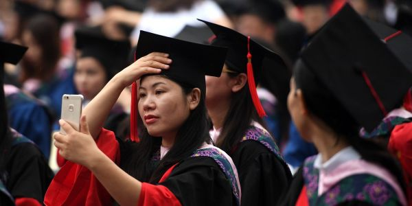 A Chinese university suspended a student's enrollment because of his dad's bad social credit score