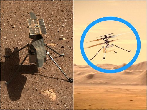 NASA's Ingenuity helicopter just flew sideways over the Martian surface in its second aerial adventure