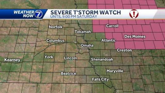 Strong storms south and east of the metro Saturday afternoon