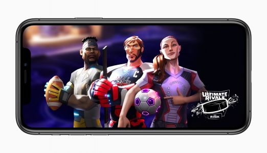 """Apple launches new """"Ultimate Rivals"""" sports game franchise on Apple Arcade"""
