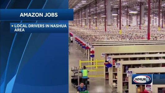 Amazon seeks hundreds of drivers in Nashua