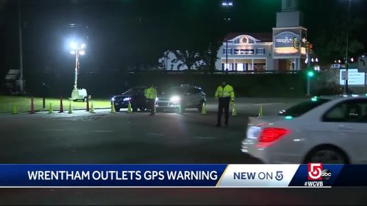 You've been warned, Wrentham Outlet shoppers: IGNORE GPS!