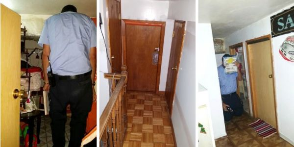 NYC inspectors only discovered an apartment was split into 9 illegal micro-units because a tenant happened to open the door when they arrived