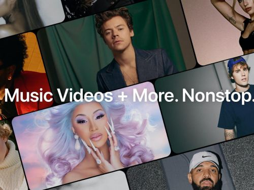 Apple launched an MTV-style live-streaming channel featuring exclusive music videos and interviews