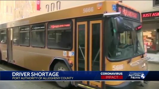 Port Authority facing driver shortage