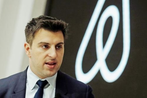 An average Airbnb host can make up to $10,000 a year, the company's CEO said