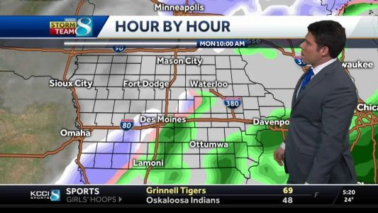 Tracking next chance for accumulating snow