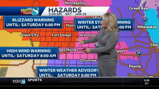 Blizzard conditions to cause travel problems