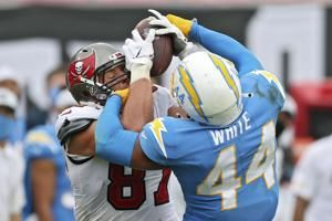 Chargers place leading tackler Kyzir White on COVID-19 list