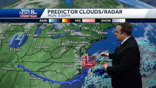 Few Flurries Or Sprinkles Monday Afternoon; Cool End to Winter