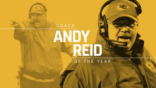 NFL head coaches vote Andy Reid Sporting News coach of the year for 2018
