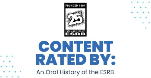 Content Rated By: An Oral History of the ESRB excerpt - Think globally, act digitally