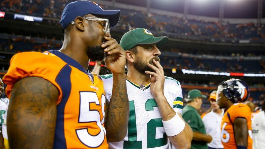 Von Miller not getting 'emotionally attached' to Aaron Rodgers-Broncos rumors: 'We have Drew Lock'