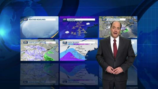 Watch: Light snow into early Wednesday