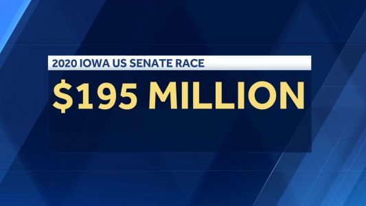 Report: Iowa's 2020 Senate race ranked second most expensive in US history