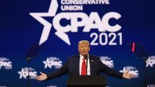 Trump Speaks At CPAC In First Appearance Since Leaving White House