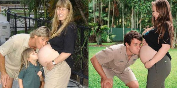 Pregnant Bindi Irwin shares tribute to her late father Steve