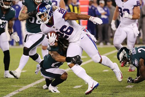 Saquon Barkley's career-best night couldn't save Giants